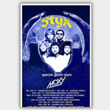 Styx with Moxy (1977) - Concert Poster - 13 x 19 inches