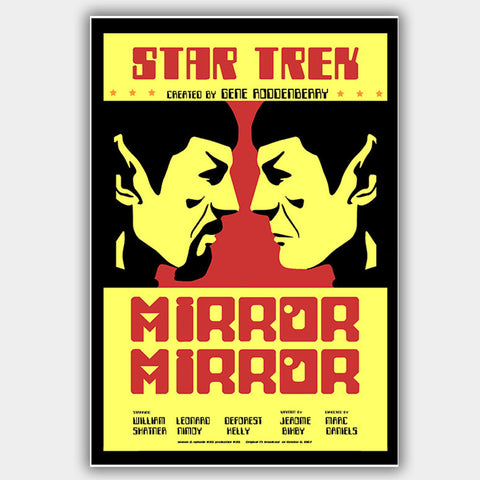 Star Trek: Mirror Mirror (1967) - Movie Poster - 13 x 19 inches