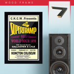 Supertramp (1976) - Concert Poster - 13 x 19 inches