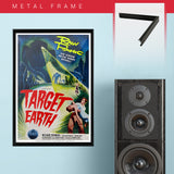 Target Earth (1954) - Movie Poster - 13 x 19 inches