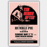 Ten Years After with Humble Pie (1971) - Concert Poster - 13 x 19 inches