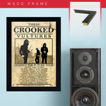 Them Crooked Vultures (2009) - Concert Poster - 13 x 19 inches