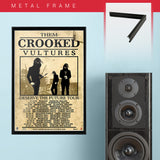 Them Crooked Vultures (2010) - Concert Poster - 13 x 19 inches