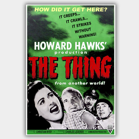 The Thing From Another World (1951) - Movie Poster - 13 x 19 inches