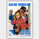 This Gun For Hire (1941) - Movie Poster - 13 x 19 inches