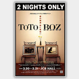 Toto / Boz Scaggs (2006) - Concert Poster - 13 x 19 inches