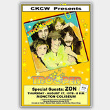 Trooper with Zon (1978) - Concert Poster - 13 x 19 inches