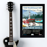 Tragically Hip (2016) - Concert Poster - 13 x 19 inches