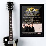 U2 (2017) - Concert Poster - 13 x 19 inches
