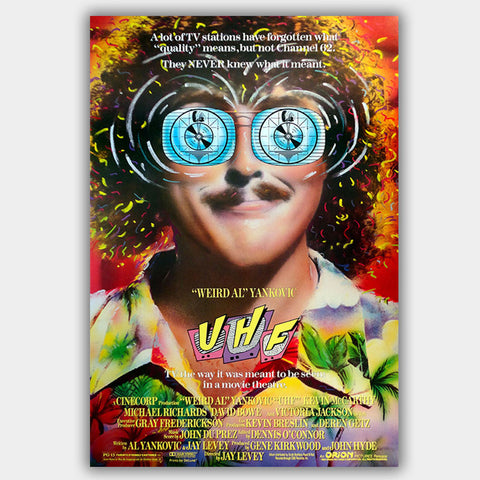 Uhf (1989) - Movie Poster - 13 x 19 inches