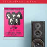 Uriah Heep with Zz Top (1973) - Concert Poster - 13 x 19 inches