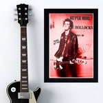 Sid Vicious with Punk As Fuck - Concert Poster - 13 x 19 inches