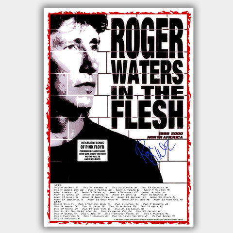 Rogers Waters (1999) - Concert Poster - 13 x 19 inches