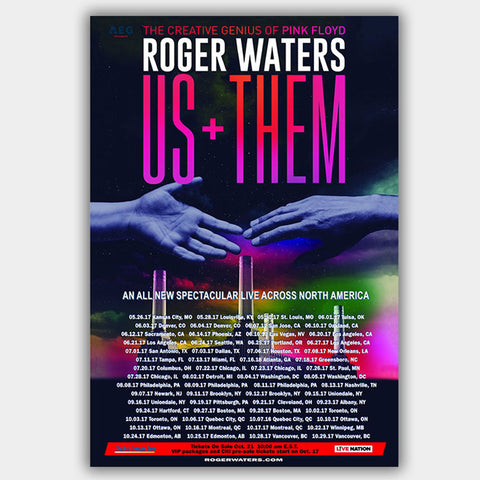 Rogers Waters (2017) - Concert Poster - 13 x 19 inches