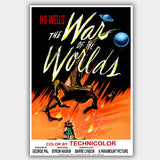 War Of The Worlds (1953) - Movie Poster - 13 x 19 inches