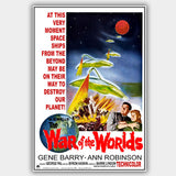 The War Of The Worlds (1953) - Movie Poster - 13 x 19 inches