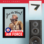 War Poster - Join Air Force - 13 x 19 inches