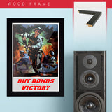 "War Poster - Victory Bonds - ""To Victory"" - 13 x 19 inches"