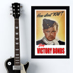 "War Poster - Victory Bonds - ""Man"" - 13 x 19 inches"