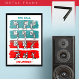 War Poster - Call & Answer - 13 x 19 inches