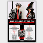 White Stripes with Icky Thump (2007) - Concert Poster - 13 x 19 inches