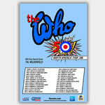 Who (2016) - Concert Poster - 13 x 19 inches