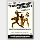 Edgar Winter Group with Robin Trower (1974) - Concert Poster - 13 x 19 inches