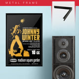 Johnny Winter with 10Cc (1975) - Concert Poster - 13 x 19 inches