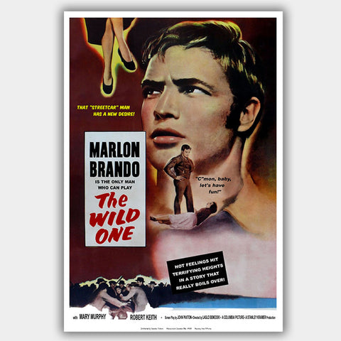 The Wild One (1953) - Movie Poster - 13 x 19 inches