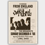 Yardbirds (1966) - Concert Poster - 13 x 19 inches
