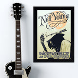 Neil Young (1971) - Concert Poster - 13 x 19 inches