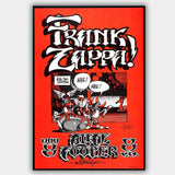 Frank Zappa with Alice Cooper (1968) - Concert Poster - 13 x 19 inches