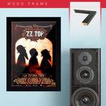 ZZ Top (2012) - Concert Poster - 13 x 19 inches