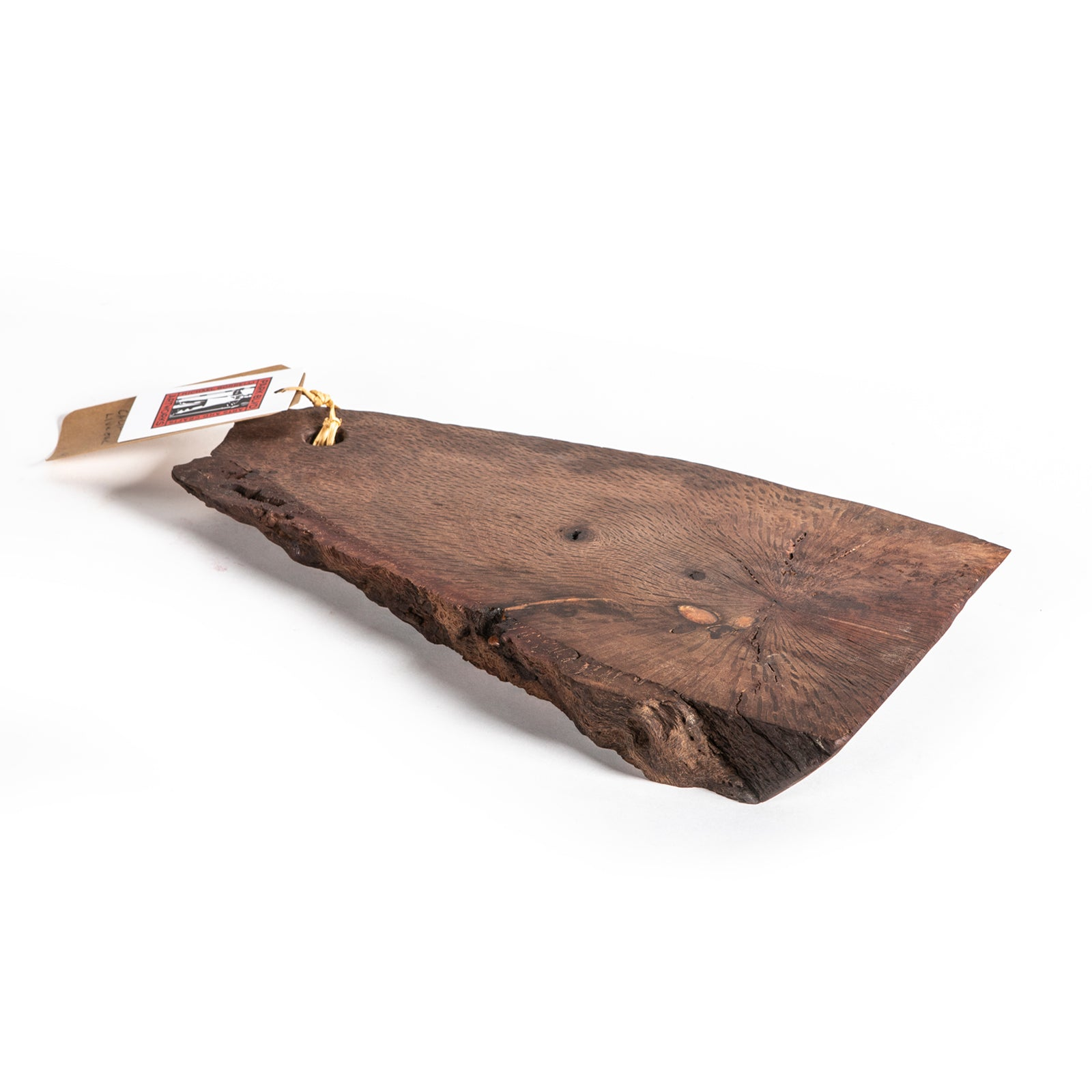 028 California Live Oak Fire Salvage Cutting Board
