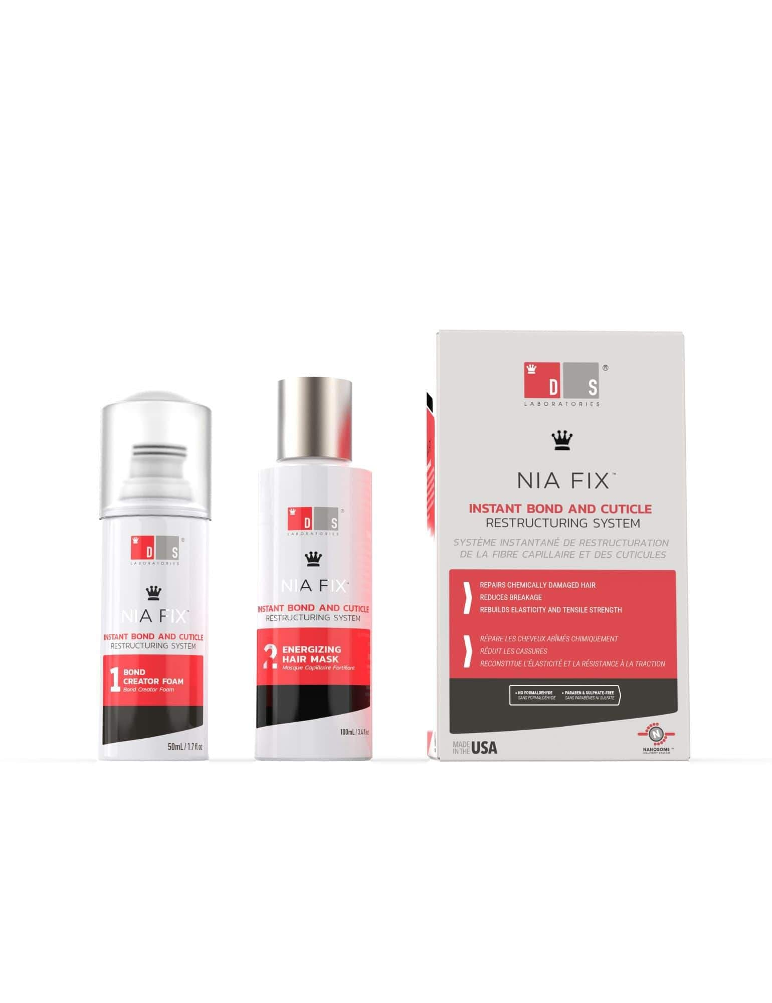 Nia Fix | Instant Bond and Cuticle Restructuring System