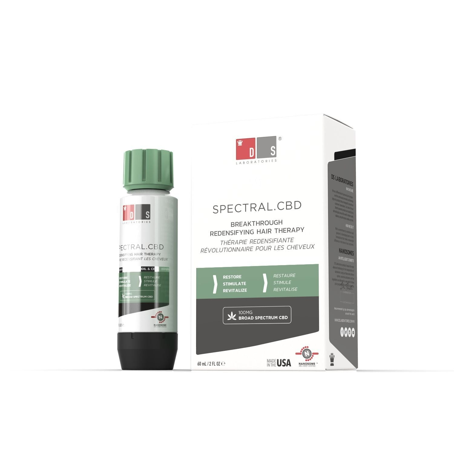 Spectral.CBD | Hair loss treatment with broad spectrum CBD + Nanoxidil 5%