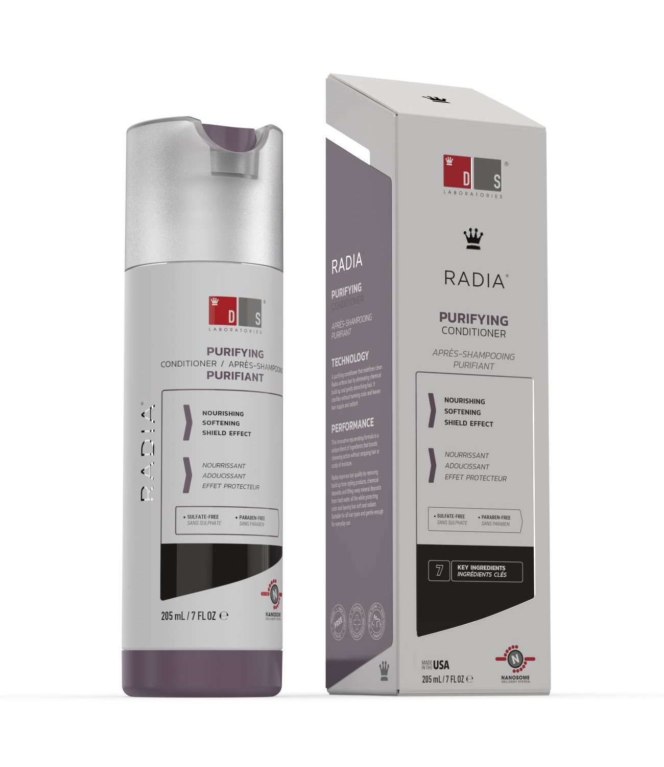 Radia | Purifying conditioner for dry, sensitive or irritated scalp