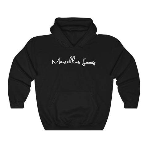 Marcellus Long Merch: Black Hoodie