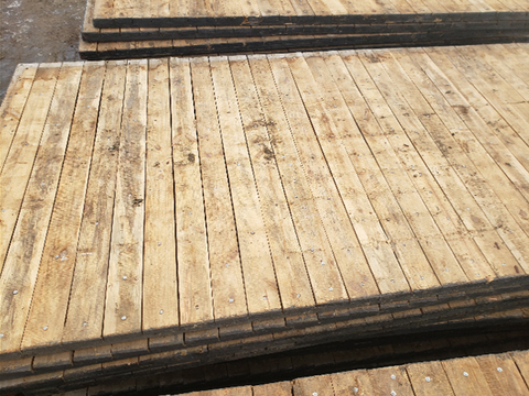 2 Ply Wooden Access Mats - Swamp Mats (NEW)