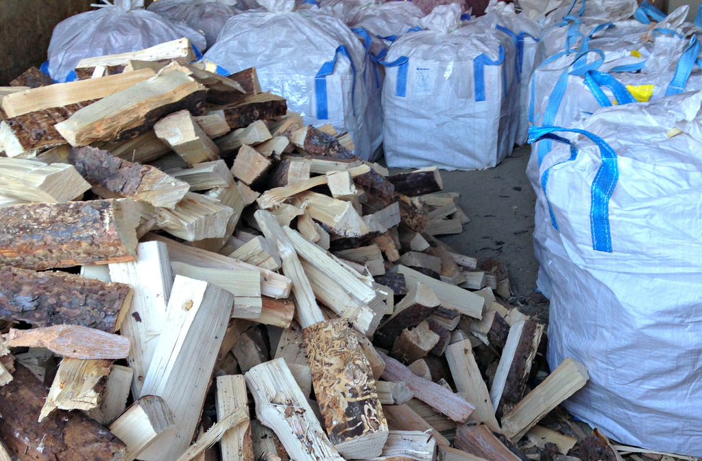 Totes of Firewood