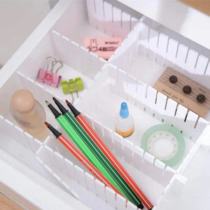 Effortless Drawer Divider [8 Pcs Set]