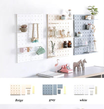 Load image into Gallery viewer, PegBoard - Wall Decor Storage Rack