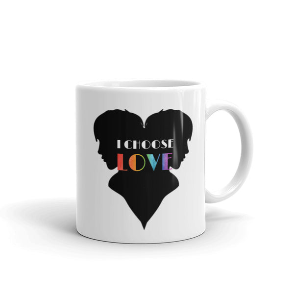 Masculine I Choose Love Mug