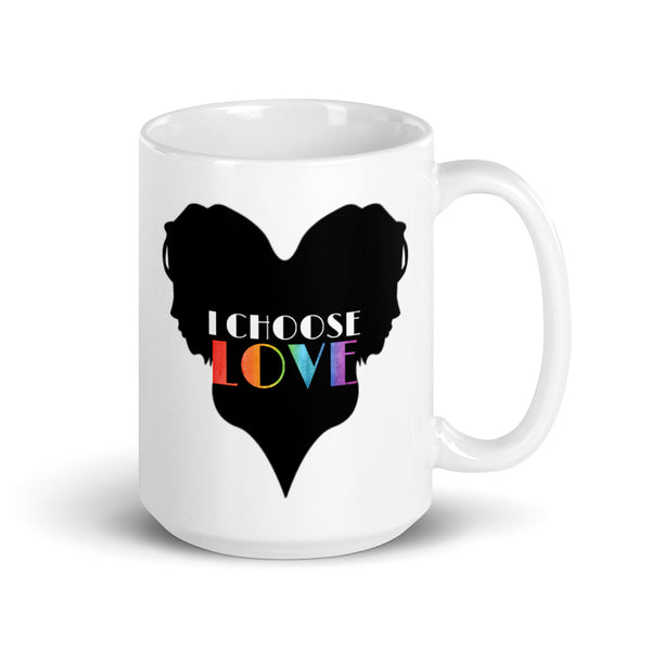 Feminine I Choose Love Mug