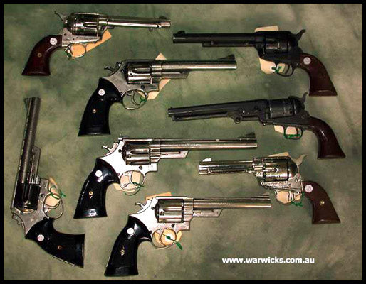 62. Assorted Revolvers