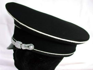 WW2 German SS Officers Peaked Cap