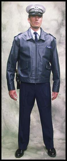 Australian Winter Police Leather Jacket