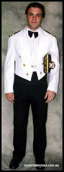 US Navy Mess Dress
