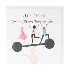 Belly Button Designs 'Keep Going' Card