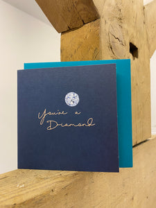 Belly Button Designs 'You're a Diamond' Greetings Card